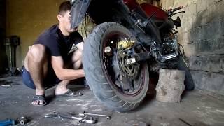 ремонт мотоцикла мустанг мт 250