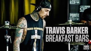 Travis Barker LIVE Drum Set On The Cruz Show | Breakfast Bars