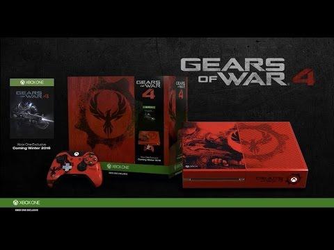 gears of war 4 new xbox one bundles 2016 multiplayer. Black Bedroom Furniture Sets. Home Design Ideas