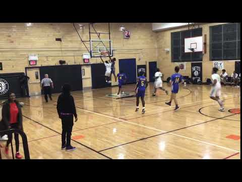 '20 Ahzariah Douglas throws it down for a one-hand posterizer !