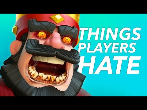 Thumbnail: 10 Things Clash Royale Players HATE