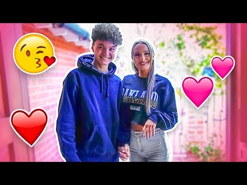Little Brother's FIRST DATE With Girlfriend Little Sister (NEW COUPLE VLOG)