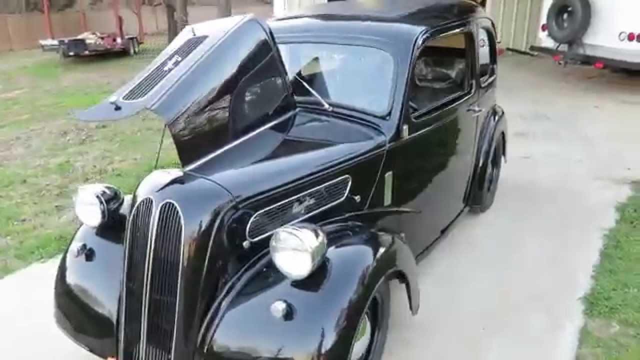 Jeff Hefler\'s 1949 Anglia for sale on ebay. - YouTube