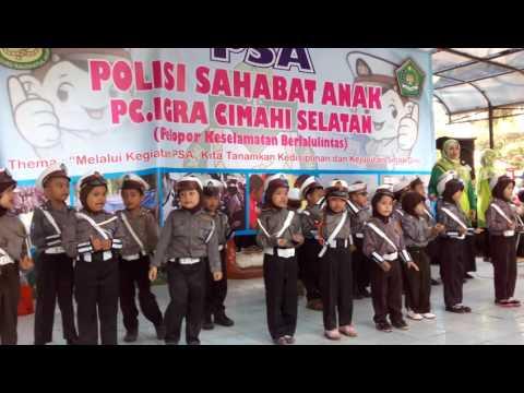 Lagu Polisi sahabat anak. RA Al-Iswah.arfa dkk
