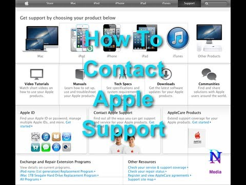 How To Contact Apple Telephone Support For Mac Macbook IPhone IPad IPod
