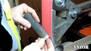 Нож разведчика, по мотивам НР-40. Делаем рукоятку - видео с процесса изготовления