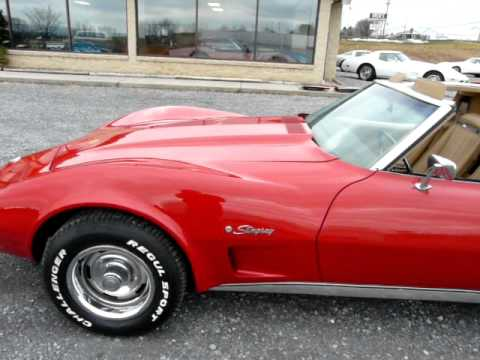 1975 red corvette 4spd t top for sale youtube. Cars Review. Best American Auto & Cars Review