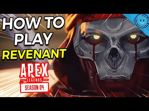 HOW TO PLAY - REVENANT! Apex Legends Season 4 New Legend! (Gameplay, Tips, and Ability Guide!)