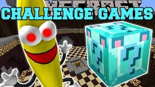 Minecraft: I'M A BANANA CHALLENGE GAMES - Lucky Block Mod - Modded Mini-Game thumbnail
