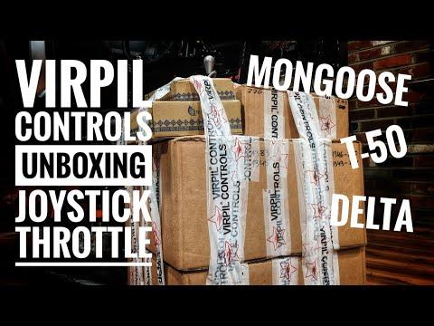 $1600 VIRPIL HOTAS ORDER - VPC UNBOXING & 1st LOOK Joystick Throttle