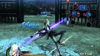 裂界武帝と空中通常の刹那を使った遊び。