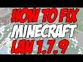 How-to Fix Minecraft LAN 1.7.9 2014