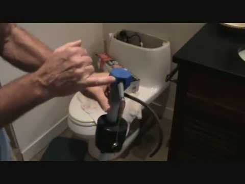 Fluidmaster toilet fill valve repair
