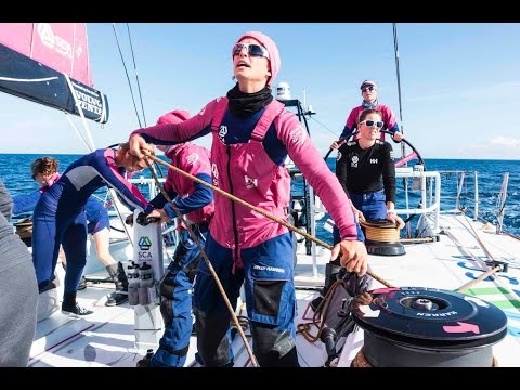 Ocean Racing Team SCA Provide Inspiration On International Women's Day