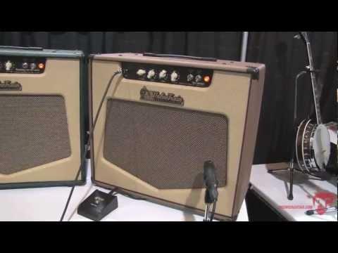 Summer NAMM '12 - ValveTrain Amps Savannah, Bunker Hill, & Saratoga Demos