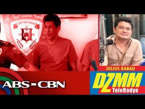 'Super pagsisisi talaga': Julio Diaz admits taking drugs