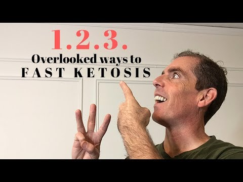Get into Ketosis Fast - 1.2.3. Overlooked Ways to FASTER KETOSIS