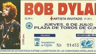 Bob Dylan - Stuck Inside Of Mobile With The Memphis Blues Again (Gijon, 8/7/93)