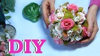 Мастер-класс Шар из цветов / Идеи декора / Сделай сам / DIY