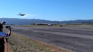 C-17 GLOBEMASTER LANDING AT ILOPANGO AIR SHOW 2016