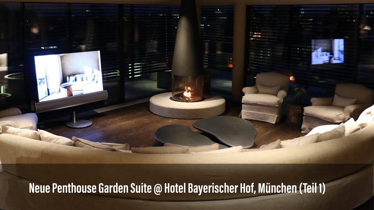 The Penthouse Garden Suite @ Hotel Bayerischer Hof, Munich, Pt. 1