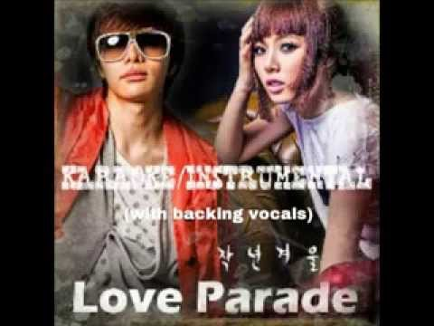 Love Parade - HyunA & T-MAX (Filtered Karaoke/Instrumental) [lyrics in description]