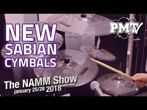 NAMM 2018   New Sabian Cymbals