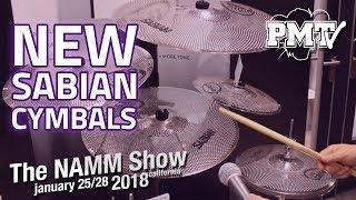 NAMM 2018 | New Sabian Cymbals