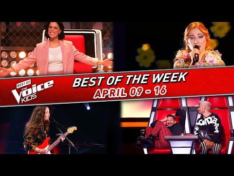 ?The BEST of the WEEK in The Voice Kids #4!   ?April 09-16  2021