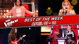😍The BEST of the WEEK in The Voice Kids #4! | 📆April 09-16  2021