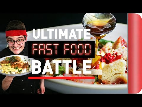 Chef vs. Chef ULTIMATE FAST FOOD BATTLE