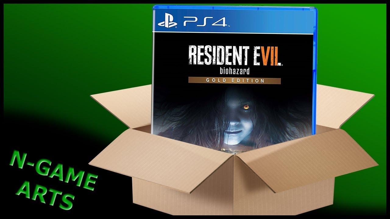 resident evil biohazard gold edition dlc on disc
