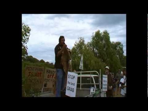 Aboriginal Heritage in Point Peron (by Trevor Walley) Hopp rally 2301011