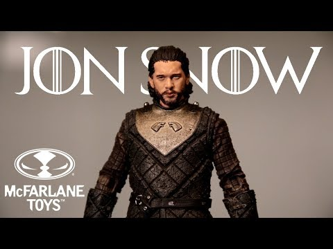 McFarlane: Jon Snow Game Of Thrones Action Figure Review