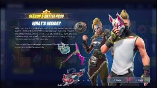 FORTNITE SEASON 5 ALL *New* SKINS, CHALLENGES AND FEATURES