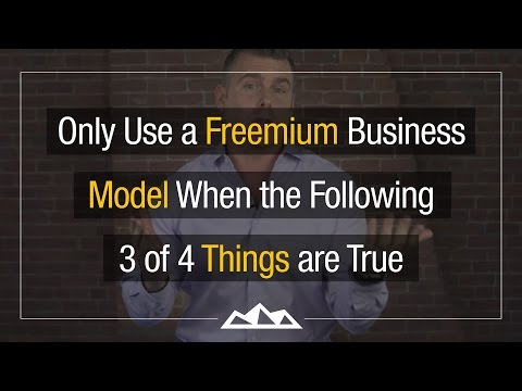 The 4 Rules For Creating A GREAT Freemium SaaS Product | Dan Martell