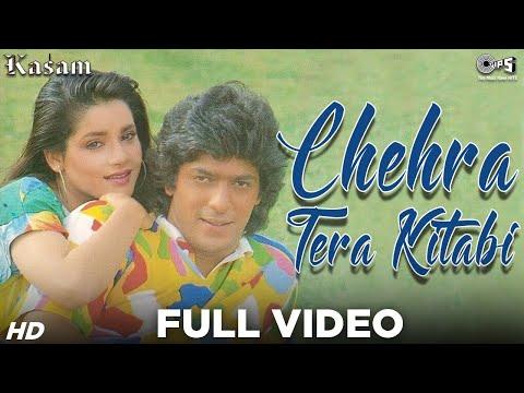 Chehra Tera Kitabi  - Kasam - Chunky Pandey & Neelam  - Full Song