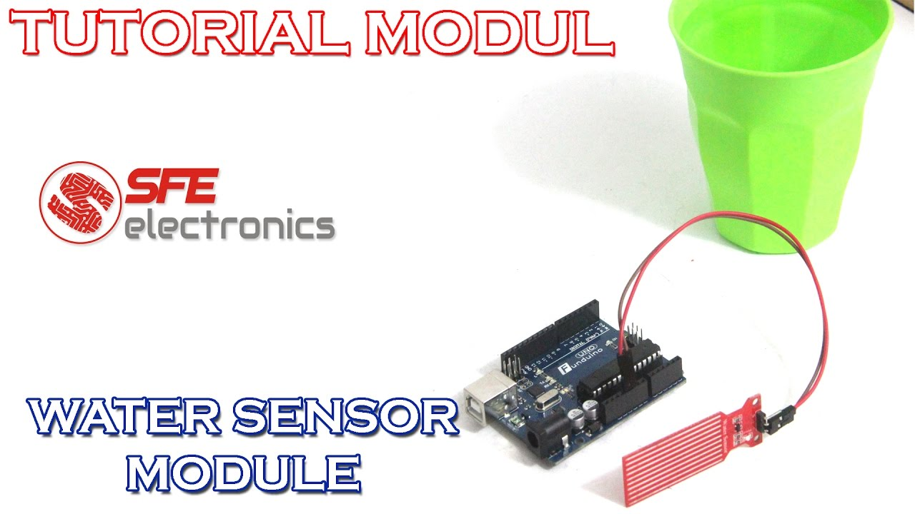 Tutorial Water Sensor Menggunakan Arduino Youtube Circuit Pictures For Their Products