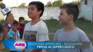 NOTAS DIVISIONES INFERIORES ESTUDIANTES - SUPERCLASICO
