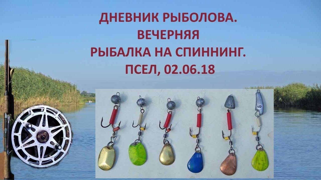 Ведение дневник рыбака