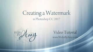 Création d'un Filigrane avec Adobe Photoshop CC
