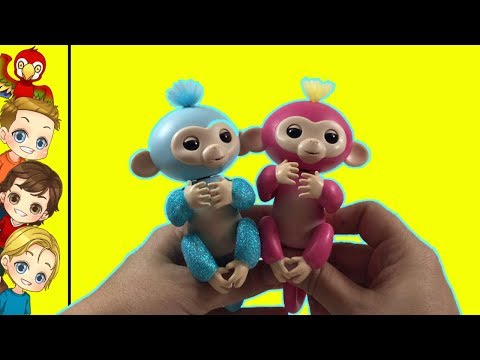 FINGERLINGS!  HOT TOY 2017 | How Cute Are They?? 🙈🙉🙊