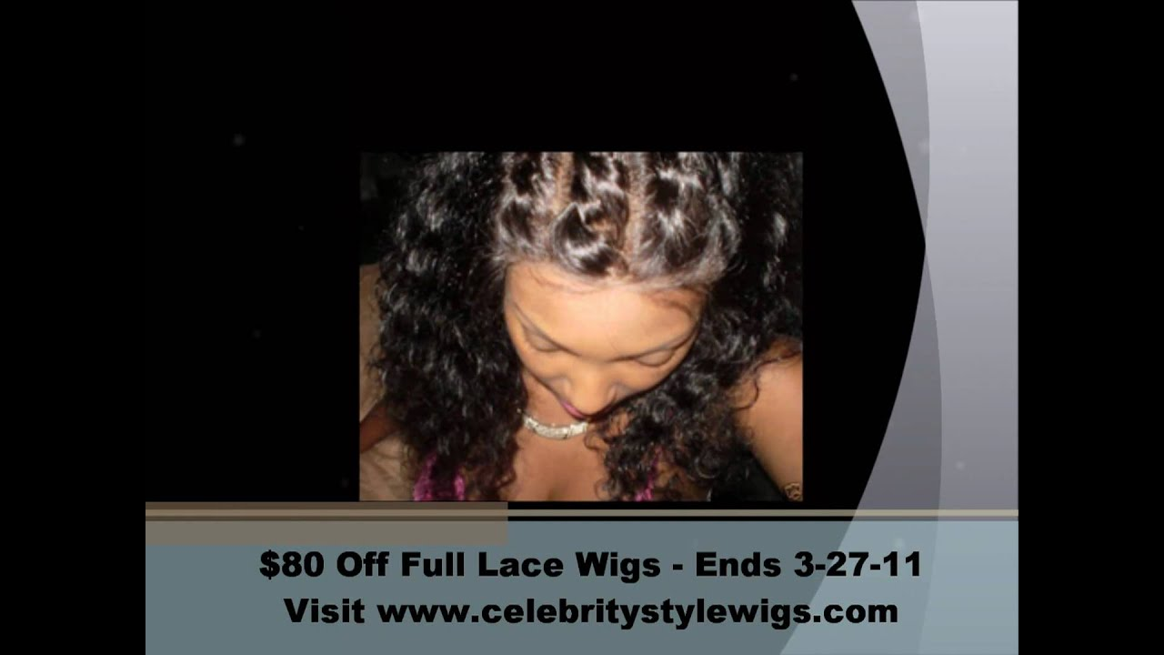 Full Lace Wigs and Lace Front Wigs $80 Off