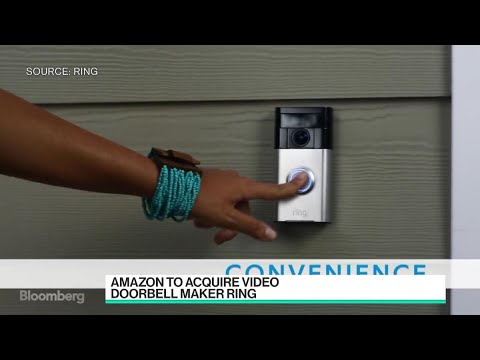 Amazon to Buy Smart-Doorbell Maker Ring & Amazon to Buy Smart-Doorbell Maker Ring - YouTube