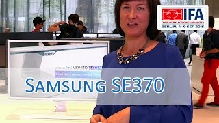IFA 2015: Samsung SE370 Wireless Charging Display