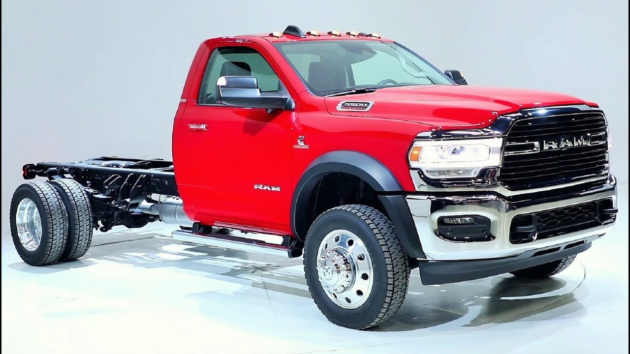 2019 Ram 5500 Chassis Cab SLT - High Capability And Advanced Technology - YouTube