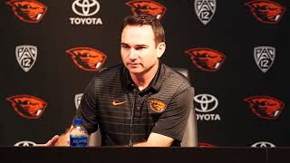 HC Jonathan Smith Press Conference - August 27, 2018