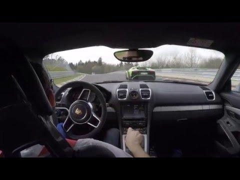 Porsche Cayman GT4 vs. Lamborghini Aventador SV Nordschleife Touristenfahrten