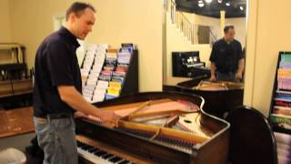 Starck 1920s Antique Baby Grand Piano