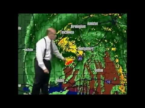 Part 2 of 2005 Hurricane Dennis Coverage - Jason Simpson, James Spann, Brian Peters - July 2005